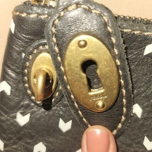 Fossil clutch/pouch